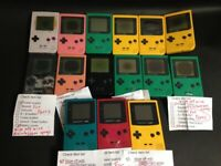 as-is Nintendo GameBoy color pocket Console 15p For parts DHL First ship 358