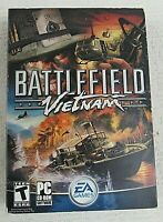 Battlefield Vietnam PC CD-Rom 2004 Windows first person shooter action game
