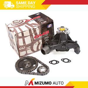 Timing Chain Kit Water Pump Fit 92-98 Chevrolet GMC Isuzu Oldsmobile V6 4.3 OHV