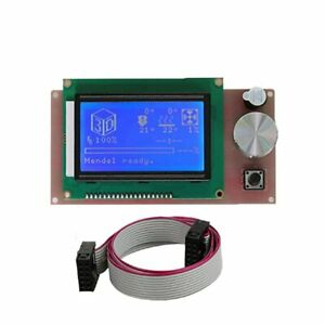 Anet 12864 LCD Smart Display Screen Controller Module with cable For 3d printer