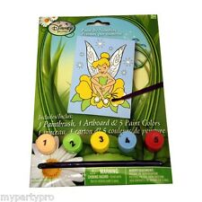 Disney's TINKERBELL PAINT BY # FAVOR BIRTHDAY PARTY supplies FREE SHIPPING