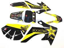 ROCKSTAR GRAPHICS DECAL STICKERS HONDA CRF50 SDG SSR 107 110 125 V DE60