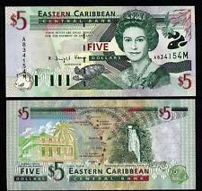 MONTSERRAT  EAST CARIBBEAN STATES 5 Dollars 2000 UNC  37 m
