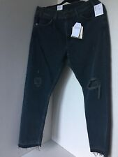 Levis Ladies With the Famous fit Ripped Jeans 505C Size 30 RRP £95