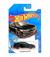 Hot Wheels 2020 HW '18 HONDA CIVIC TYPE R 1:64 Scale Die-Cast Car Black 81/250