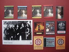 DREAM THEATER,promo photo,11 different Backstage passes,Rare Originals