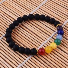 Malasation 7 Chakra PremiumNatural Healing Balance Beaded Bracelet Reiki Prayer