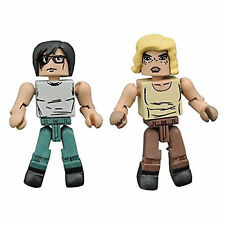 Minimates Walking Dead Series 8 Hilltop Carl And Sophia Figure Set NEW