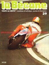 LA BECANE  29 DERBI Max DEUBEL Dirt Track Giacomo AGOSTINI Moteurs 2 temps 1978