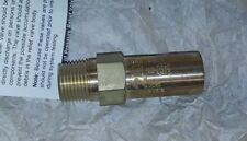 "Superior 3002-400 Pressure Relief Valve 400PSI B14-181 3/8"" NPT Straight-Thru"