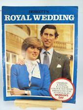 Debrett's Royal Wedding Magazine 1980: Princess Diana and Prince Charles