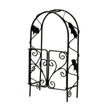 Darice Halloween Decor - Metal Mini Scape Fairy Garden Bat Trellis #3115-049
