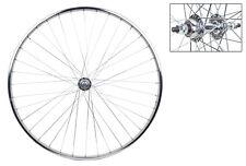 "27"" X 1 1/4 "" Steel Road Single Wall Rear Bicycle Wheel 5/6/7 Speed Bolt On"