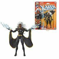 X-Men Retro Marvel Legends 6-Inch Black Outfit Storm Action Fig Hasbro