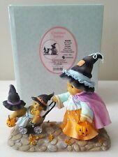 Cherished Teddies Halloween 4034588 Wee Witches Gwyneth Pushes Stroller