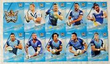 NRL 2018 Trading Cards Gold Coast Titans full set of 10