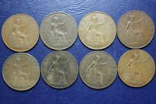 8 GREAT BRITAIN  PENNY'S  LOT  #5