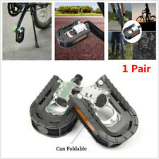 Pair of Aluminum Alloy Bicycle Pedals Foldable for Mountain Road Bike Cycling