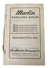 Marlin Catalog 1907 Vintage Original