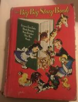 Vintage The Big Big Story Book 1951, Hardcover  Whitman Publishing 5 Stories
