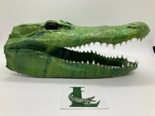 Unique Alligator Head From A Louisiana Gator Taxidermy Art