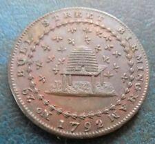 More details for superb 1792 half penny token donald & co no 29 bull street birmingham