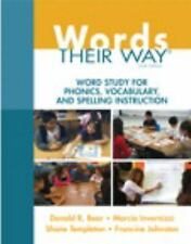 Words Their Way: Word Study for Phonics, Vocabulary, and Spelling Instruction (6