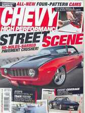4 Chevy High Performance Mags: 4 issues From 2013 - March to June 2013 (New)