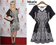 paisley mini boho dress size 10