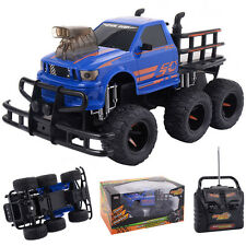 1/10 4CH RC Monster Truck Electric Remote Control Off-road Car All Terrain Blue