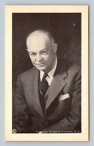 President Dwight Eisenhower, Vintage Postcard