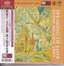 """""""Eddie Higgins Trio Speaking Of Love Music of Jobim"""" Japan Venus Records SACD CD"""
