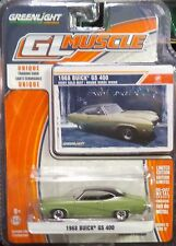 Green Light GLMuscle *Series 12* 1968 Buick GS 400 Ivory Gold Mist