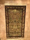Turkish Handmade 100% Silk Prayer Rug