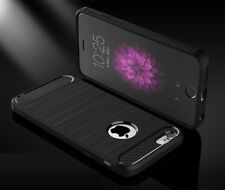 Carbon Fibre Protective iPhone 8 Cover Black Case