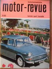 Tschechoslowakische MOTOR REVUE 9 - 1965 * Skoda Jawa 50 Sport Motocross