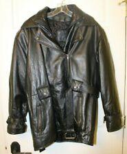 Vintage Harley Davidson Screamin Eagle Distressed Leather Jacket Size Mens 44