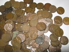 Lincoln Wheat Penny Roll Of 50 Unsearched Pennies 1909 - 1958 P D S Mixed Lot