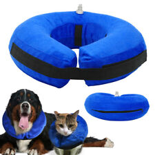 Inflatable Collar Pet Soft E-Collar Dog Cat Puppy Medical Protection Head Cone