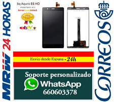 Pantalla Completa para BQ Aquaris E6 HD IPS5K0750FPC LCD + Tactil Negro Negra