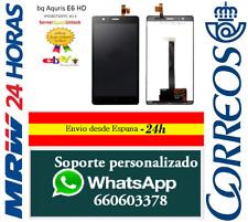 PANTALLA PARA BQ AQUARIS E6 HD IPS5K0750FPC LCD + TACTIL NEGRO ENVÍO 24 HORAS