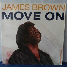 """James Brown – Move On (Vinyl 12"""",Maxi 45 Tours, Stereo)"""