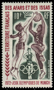 "AFARS et ISSAS C67 - Munich Olympics ""Basketball"" (pb33900)"