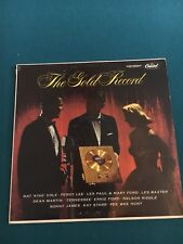 The Gold Record Peggy Lee Nat King Cole Les Paul Tennessee Ford Dean Martin