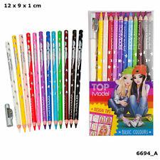 Depesche 6694 - Topmodel Buntstifte Basic Farben 12er Etui