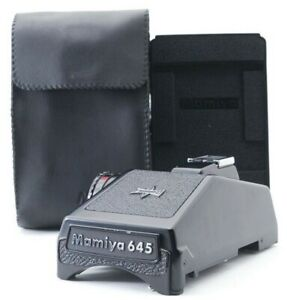 """""""N MINT + Case"""" Mamiya PD Prism Eye Level View Finder for M645 1000S Japan 0303"""
