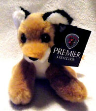 Beautiful and Rare Ark Toys Premier Collection Plush Fox Toy - 13 cm - Bnwt