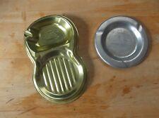 2 Vintage Aluminum Ash Trays J & R Tool and Mfg. and Marshalltown Mfg. Co. Iowa