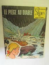 """Paul Cuvelier / Line T 2 en EO """"Le piège au Diable"""" / Editions du Lombard 1968"""