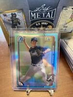 2015 Bowman Chrome Draft Sky Blue Refractors #181 Michael Soroka